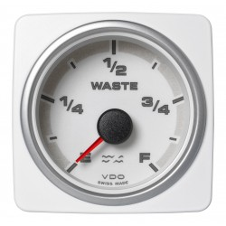 Veratron AcquaLink - 52mm White Waste Water Level - 12-24V
