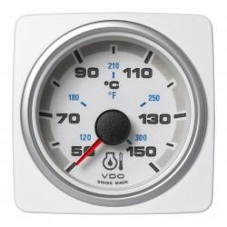 Veratron AcquaLink - 52mm White Engine Oil Temperature 150°C-300°F - 12-24V