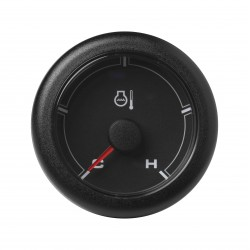 Veratron OceanLink II - 52mm Black Coolant Temperature Cold-Hot - 12-24V DLRB