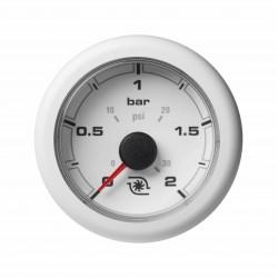 Veratron OceanLink II - 52mm White Turbo Pressure 2Bar-30PSI - 12-24V DLRW