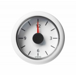 Veratron ViewLine - 52mm White Quartz Clock 12V - 12-24V DLRW