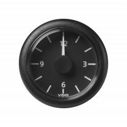 Veratron ViewLine - 52mm Black Quartz Clock 24V - 12-24V DLRB