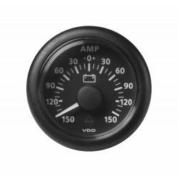 10X Veratron ViewLine - 52mm Black Ammeter 150A - 12-24V DL