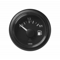 10X Veratron ViewLine - 52mm Black Fuel Level 1-1 - 3-180 Ohm - 12-24V DLRB