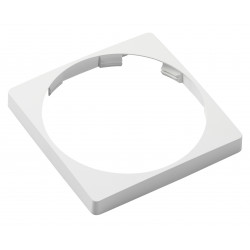 Veratron AcquaLink 110mm Bezel Square White Retail Package