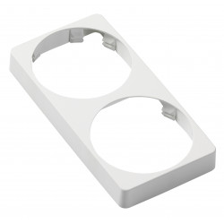 Veratron AcquaLink 52mm Bezel Rectangle Dubbel White Retail Package