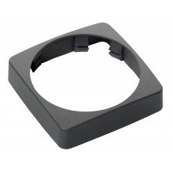 Veratron AcquaLink 52mm Bezel Square Enkel Black Retail Package